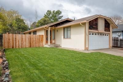 Ukiah CA Single Family Home For Sale: $367,500