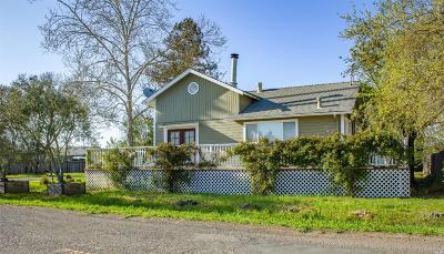 Healdsburg Single Family Home For Sale: 473 West Grant Street