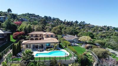 Tiburon Single Family Home For Sale: 4795 Paradise Drive