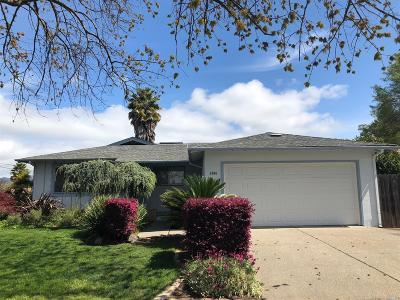 Napa Single Family Home For Sale: 3604 Harkness Street