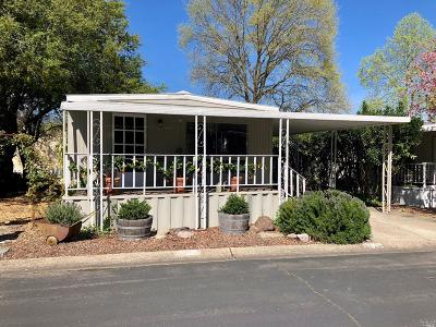 Calistoga Mobile Home For Sale: 2412 Foothill Boulevard #49, 49