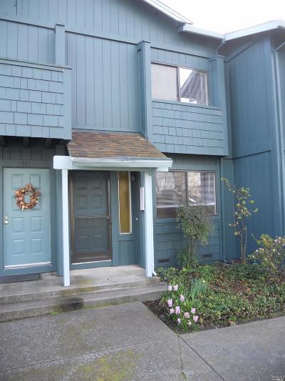 Sonoma County Condo/Townhouse For Sale: 243 College View Drive