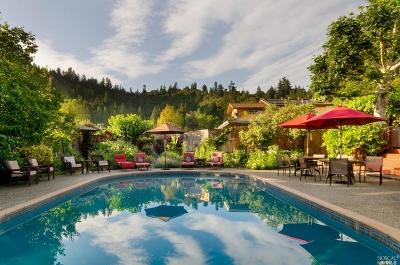 Guerneville Single Family Home For Sale: 16326 Valley Lane