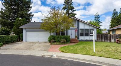 Vacaville CA Single Family Home For Sale: $520,000