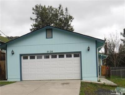 Clearlake Single Family Home For Sale: 3126 4th Street