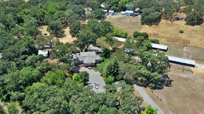 Glen Ellen Single Family Home For Sale: 3770 Warm Springs Road