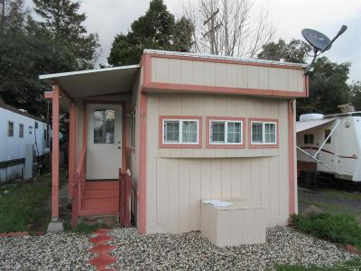 Mendocino County Mobile Home For Sale: 4951 N. State Street #A11, A11