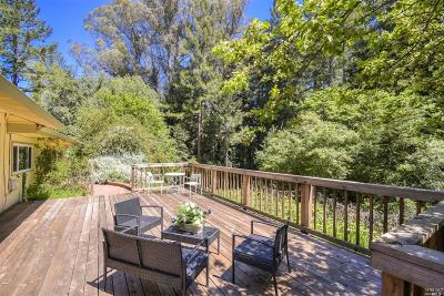 Sebastopol Single Family Home For Sale: 10215 Occidental Road