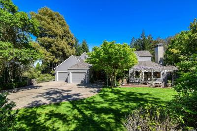 Mill Valley Single Family Home For Sale: 901 Marin Drive