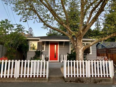 Healdsburg Single Family Home For Sale: 102 Marion Lane
