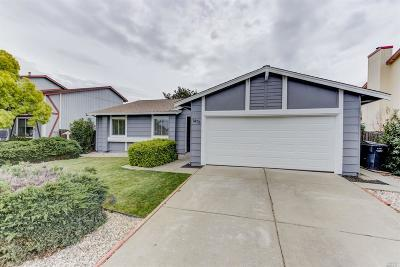 Suisun City Single Family Home Contingent-Show: 1476 Monitor Avenue