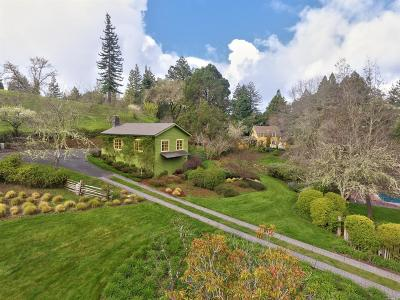 Mendocino County Single Family Home For Sale: 20500 Tumbling McD Road