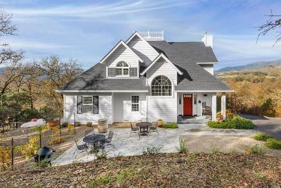 Mendocino County Single Family Home For Sale: 1241 University Road