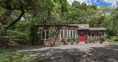 Glen Ellen, Kenwood, Sonoma Single Family Home For Sale: 6825 Enterprise Road