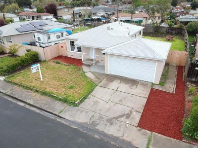 Vallejo Single Family Home For Sale: 172 Sawyer Street