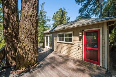 Guerneville CA Single Family Home For Sale: $485,000