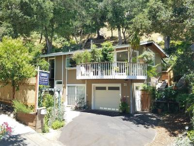 Marin County Single Family Home For Sale: 30 Valley Road