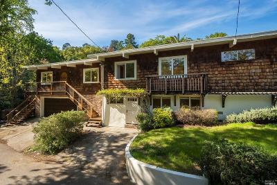 Marin County Single Family Home For Sale: 160 Laurel Drive