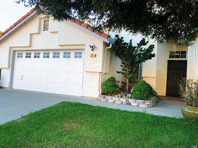 Vacaville CA Single Family Home For Sale: $460,000