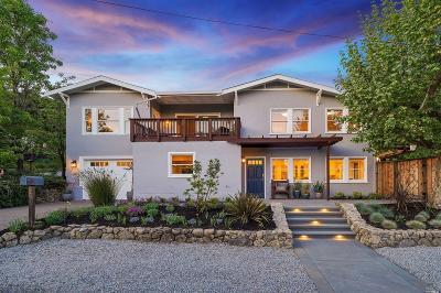 San Anselmo Single Family Home For Sale: 400 San Francisco Boulevard