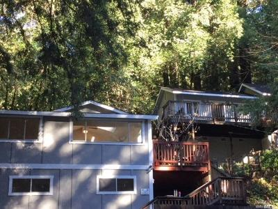 Guerneville CA Single Family Home For Sale: $395,000