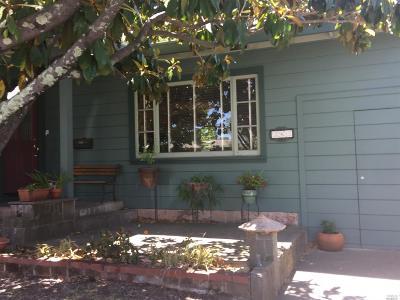 San Rafael Single Family Home For Auction: 383 Irwin Street