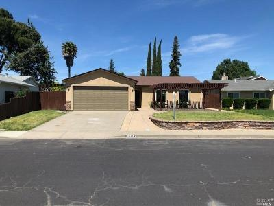 Vacaville Single Family Home For Sale: 507 Greenwood Drive