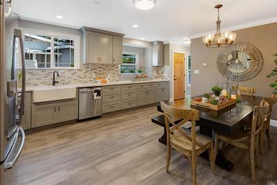 San Anselmo Single Family Home For Sale: 1109 Sir Francis Drake Boulevard