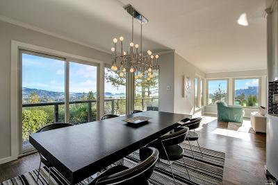 Corte Madera Single Family Home For Sale: 71 Summit Drive