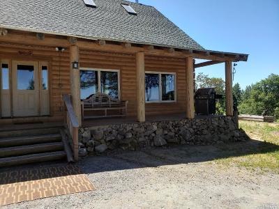 Laytonville Single Family Home For Sale: 1730 Woodman Creek Road