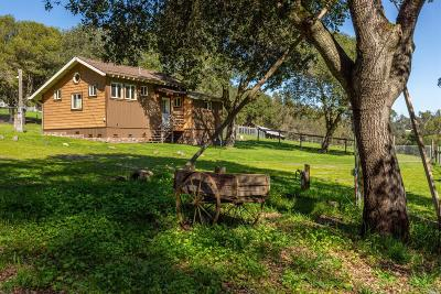 Petaluma CA Single Family Home For Sale: $900,000
