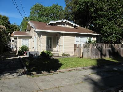 Santa Rosa Multi Family 2-4 For Sale: 126 Leland Street