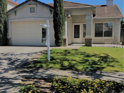 Vacaville, Fairfield, Dixon, Suisun City, Vallejo Single Family Home For Sale: 1738 Autumn Meadow Drive