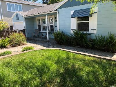 Benicia Single Family Home For Sale: 890 West K Street