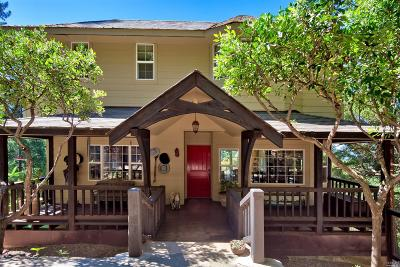 Glen Ellen Single Family Home For Sale: 12571 Maple Glen Road