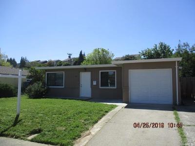 Vallejo Single Family Home For Sale: 309 Pueblo Way