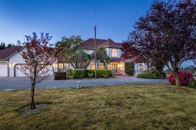Petaluma Single Family Home For Sale: 6011 Carniglia Lane