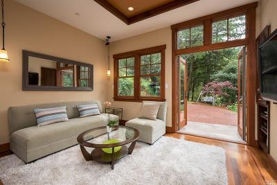 Corte Madera Single Family Home For Sale: 465 Montecito Avenue