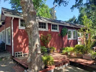 Healdsburg Single Family Home For Sale: 2795 N.fitch Mountain Road