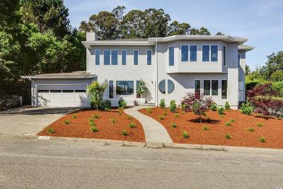 Mill Valley Single Family Home For Sale: 254 Reed Boulevard