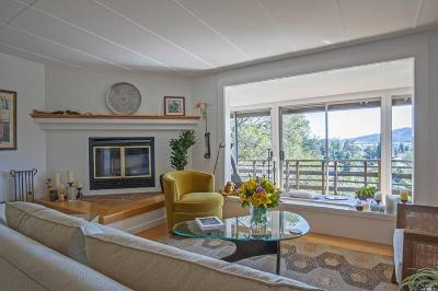 Mill Valley Single Family Home For Sale: 24 Hillcrest Road