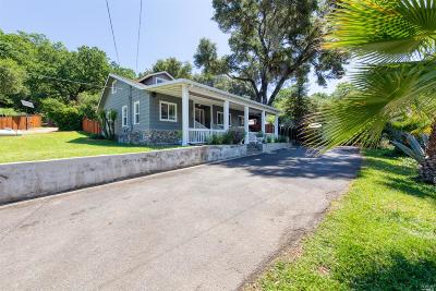 Ukiah Single Family Home For Sale: 3321 Old River Road