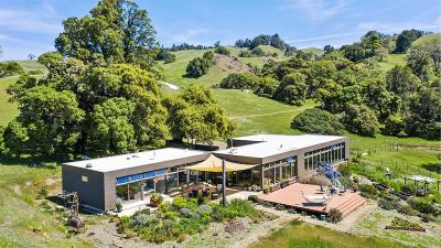 Mendocino County Single Family Home For Sale: 20920 Yorkville Ranch Road