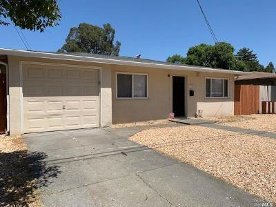 Fairfield Single Family Home For Sale: 1330 Crowley Lane