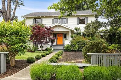 Healdsburg Single Family Home Contingent-Show: 337 Matheson Street