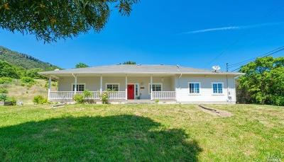 Napa Single Family Home For Sale: 3560 Monticello Road #B
