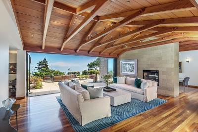 Sausalito Single Family Home For Sale: 95 Cloud View Road