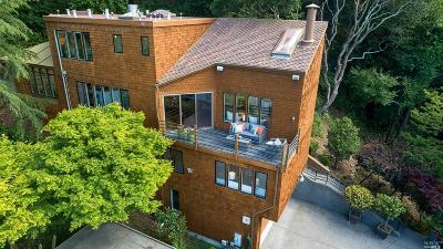 Sausalito Single Family Home For Sale: 825 Spring Street