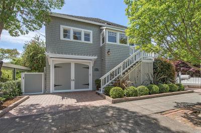 Corte Madera Single Family Home For Sale: 123 Baltimore Avenue