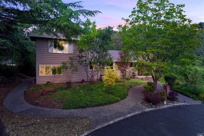 Napa County Single Family Home For Sale: 222 Monte Vista Drive
